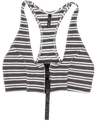 Lisa Marie Fernandez Elisa Stripe Bikini Top w/ Tags
