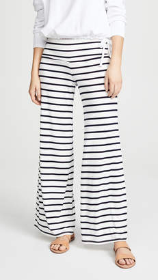 BB Dakota Striped High Waist Wide Pants