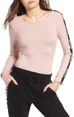 Ivy Park Logo Stripe Sleeve Bodysuit