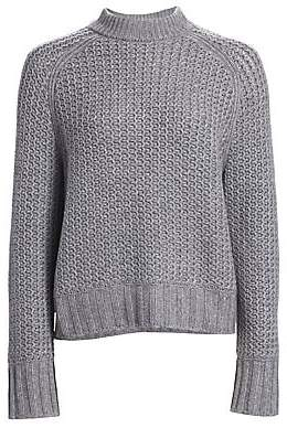 St. John Women's Cashmere Mockneck Sweater
