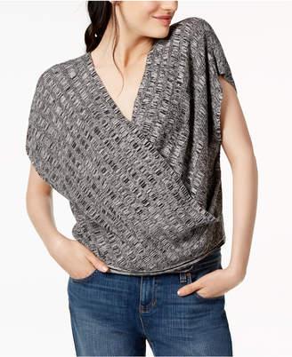 Eileen Fisher Silk Blend Surplice Sweater, Regular & Petite