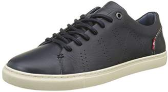 Levi's Footwear and Accessories Men's Vernon Trainers, (Navy Blue 17)