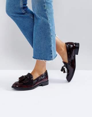 H By Hudson Fringe Leather Loafer