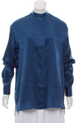 Haider Ackermann Oversize Silk Top w/ Tags