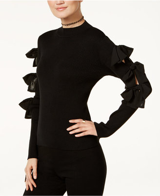 INC International Concepts Bow Sweater, Only at Macy's $79.50 thestylecure.com