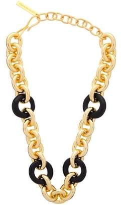 Lizzie Fortunato Zodiac Collar Chain Necklace - Womens - Gold