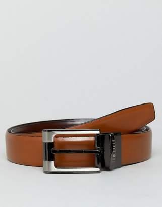 Ted Baker Crafti Smart Leather Reversible Belt