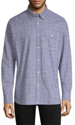 Barbour Beluga Cotton Button-Down Shirt