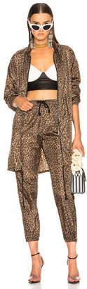 Adaptation Leopard Windbreaker