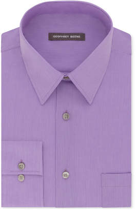Geoffrey Beene Men's Classic-Fit Wrinkle Free Bedford Cord Dress Shirt