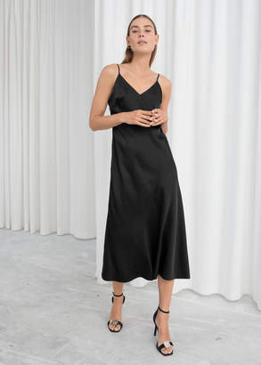 And other stories Midi Slip Dress