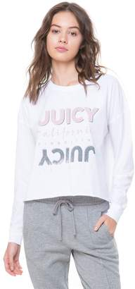 Juicy Couture Juicy Graphic Long Sleeve Tee
