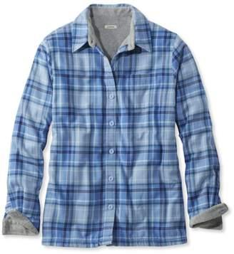L.L. Bean L.L.Bean Women's Fleece-Lined Flannel Shirt