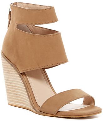 Kelsi Dagger Mackie Wedge Sandal $160 thestylecure.com