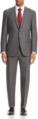 Canali Impeccable Tonal Grid Classic Fit Travel Suit $1,795 thestylecure.com