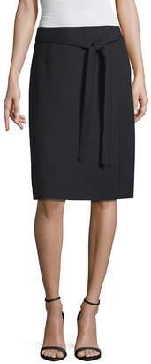 Liz Claiborne Womens Long Wrap Skirt