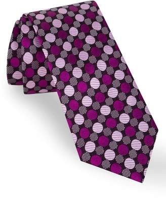 Ted Baker Parquet Jacquard Silk Tie