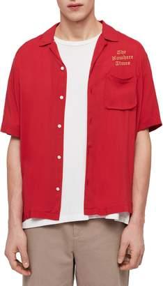 AllSaints The Nowhere Times Camp Shirt