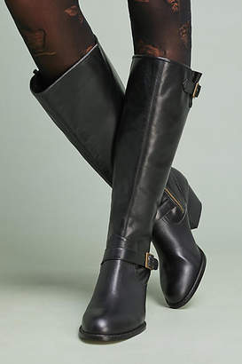 272d2c2898fb Womens Black Riding Boots No Buckles - ShopStyle