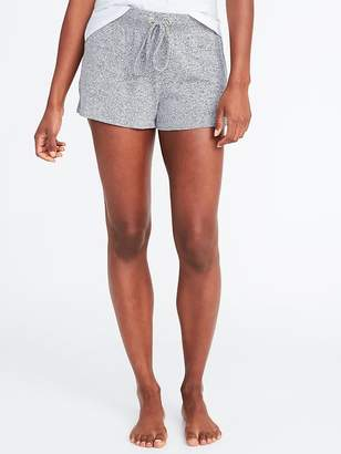Old Navy Plush-Knit Lounge Shorts for Women