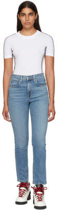 Proenza Schouler Blue PSWL Slim-Medium Jeans