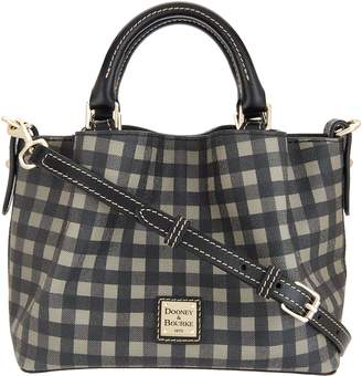 Dooney & Bourke Westwood Coated Cotton Mini Barlow Handbag
