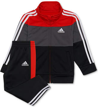 3bb5cff7 adidas Baby Boys 2-Pc. Colorblocked Track Jacket & Pants Set