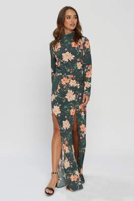 Flynn Skye Cedar Maxi - Abstract Emerald