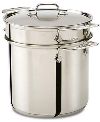All-Clad Stainless Steel 8qt Pasta Pot with Perforated Insert