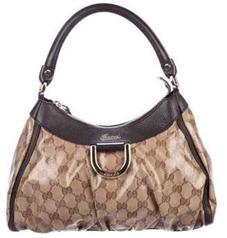 Gucci GG Crystal D-Ring Hobo
