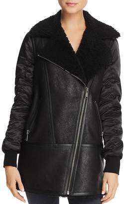 Andrew Marc Tamryn Long Shearling Jacket