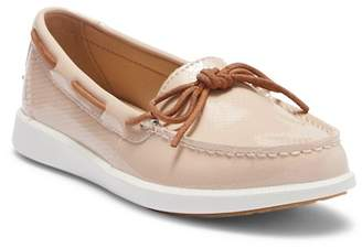Sperry Oasis Canal Rose Patent Boat Shoe
