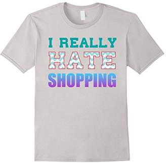 I Really Hate Shopping Introvert T-Shirt