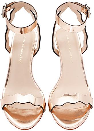 Loeffler Randall Reina kitten heel sandal