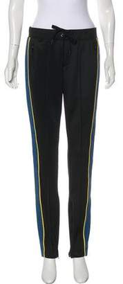 Pam & Gela Mid-Rise Straight-Leg Sweatpants