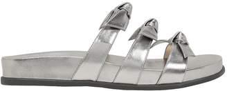 Alexandre Birman Lolita Bow Flat Sandals