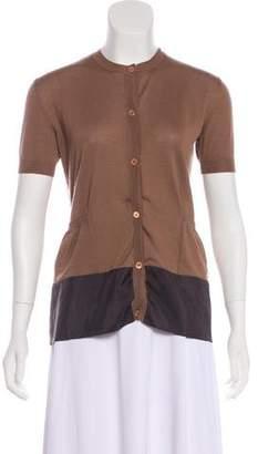 Marni Cashmere-Blend Button-Up Top