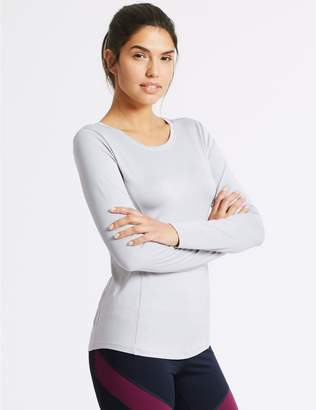 Marks and Spencer Quick Dry Long Sleeve Top