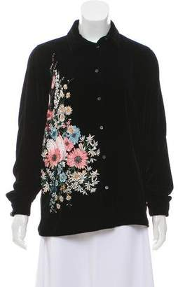 No.21 No. 21 2017 Embroidered Top w/ Tags