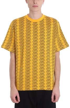 Oamc Yellow Cotton Sweatshirt