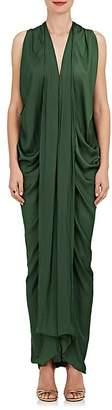 Zero Maria Cornejo Women's Eve Foil Maxi Dress
