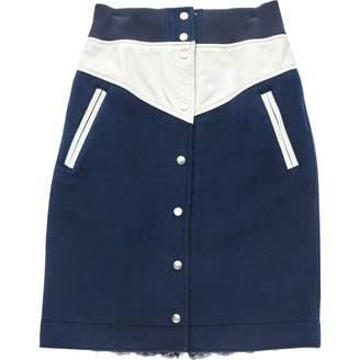 Nike Navy Wool Skirts