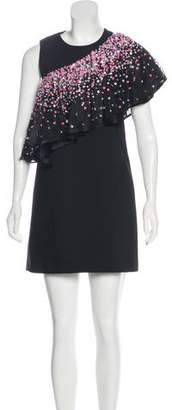 Au Jour Le Jour Embellished Mini Dress w/ Tags