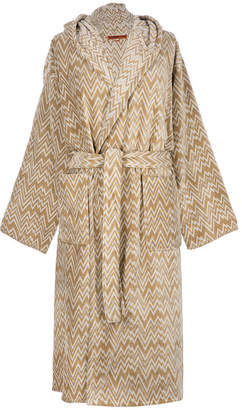 Missoni Home Vanni Hooded Bathrobe