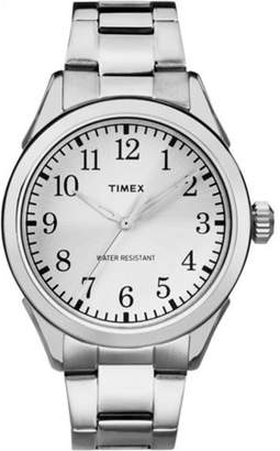 Timex Men's Briarwood Watch, Silver-Tone Stainless Steel Bracelet