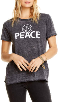 Chaser Peace Faded Graphic Tee