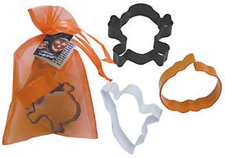 R & M International Corp. 3 Piece Halloween Cookie Cutter Set In Bag