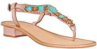 NOMAD Leather Thong Sandals - Mandalay