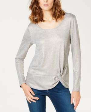 INC International Concepts I.n.c. Twist-Front Top, Created for Macy's