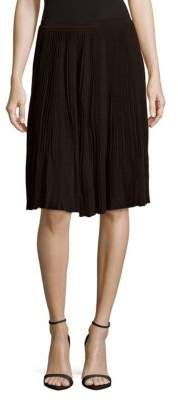 Nina Ricci Pleated Midi Skirt